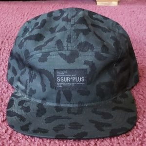 Surplus buckle back hat